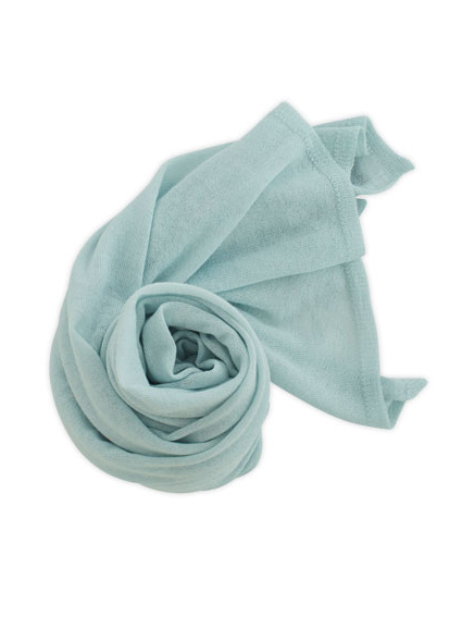 Cashmere High Gauge Plain Stall (Ice Blue)