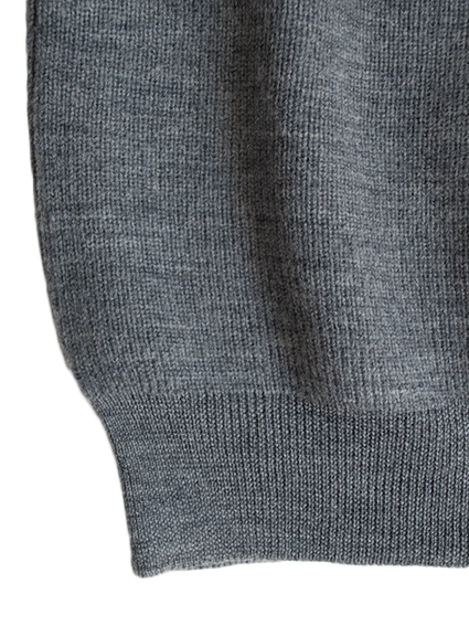 OH WELL Crew Neck Knit (Gray)