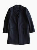 niuhans Chesterfield Coat (Navy)