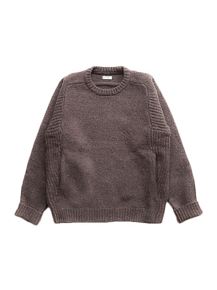 Lamb Wool Pull Over (Brown)