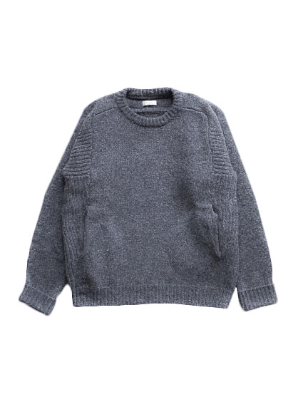 Lamb Wool Pull Over (D.Gray)