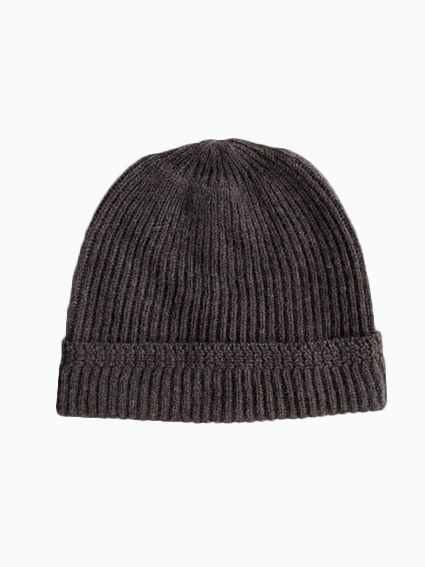 niuhans Knit Cap (Light Brown)