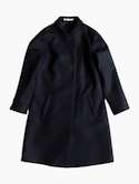semoh Shawl Collar Coat for Ladies (Black)