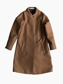 semoh Shawl Collar Coat for Ladies (Camel)