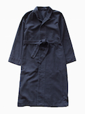 THE HINOKI Organic Cotton Flannel Coat (Navy)