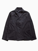 THE HINOKI Organic Cotton Semi-DoubleJacket (Navy)