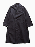 THE HINOKI Organic Cotton Semi-Double Coat (Navy)