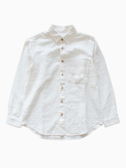 THE HINOKI 16SS Cotton Linen Work Shirt