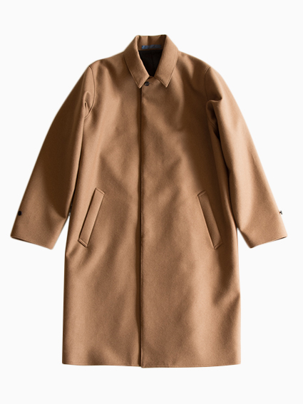 semoh Wool Cashmere Coat for Mens (Camel)