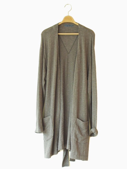 semoh Gown Knit (GRAY)