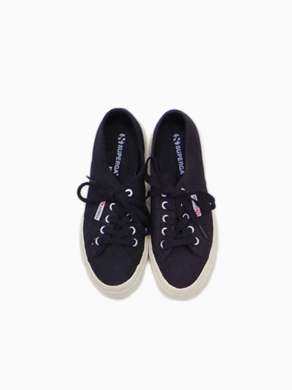 SUPERGA Canvas(BLACK~WHITE)