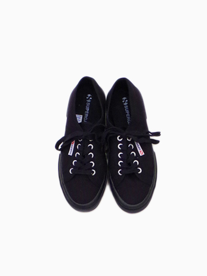 SUPERGA Canvas(FULL BLACK)